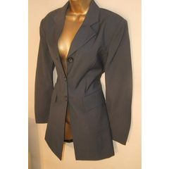 suits a 10  / 34  New slate greay Annie Taylor Suit Jacket slate wool blend fitted lined. for R39.95