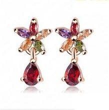 Cercei eleganti cu cristale http://www.bijuteriifrumoase.ro/cumpara/cercei-eleganti-cu-cristale-724