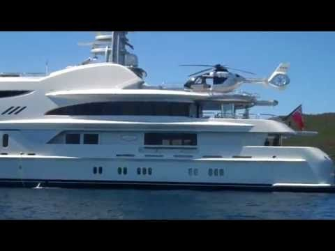 Dmitry Rybolovlev and his Amazing US$ 75 Million Yacht Anna