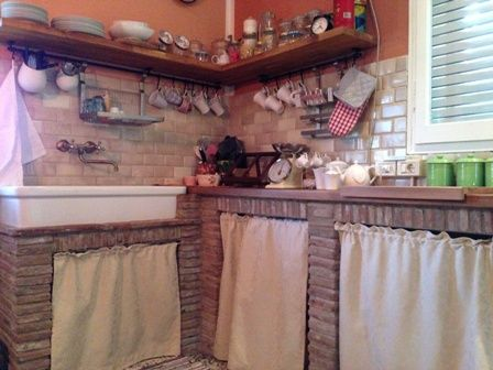 cucina muratura casa Pinterest