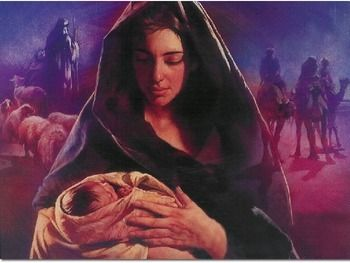 This is the Powerpoint slide show that we use for our Advent Prayer Service. If you are interested in this, please check out the Advent Prayer Service product to accompany this. This slideshow contains multiple pictures of the Blessed Mother and Jesus.