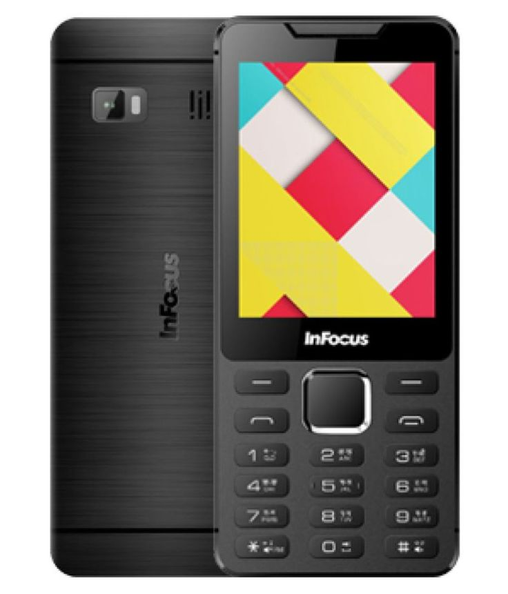 """InFocus F135 is a keypad phone with 2.8"""" display, 0.3MP camera and storage up to 32GB. its a basic and budget mobile. to know more, log on to imastudent.com"""