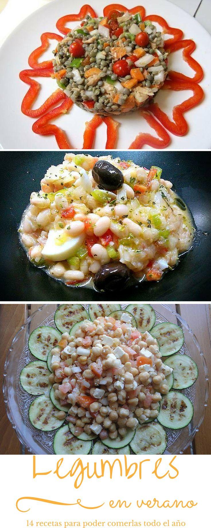 Legumbres de verano 14 ensaladas con lentejas garbanzos - Ensalada de garbanzos light ...