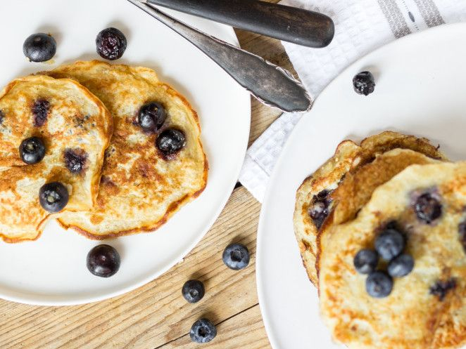 Superfood-Süßigkeit! Low-Carb-Pancakes mit Quinoa