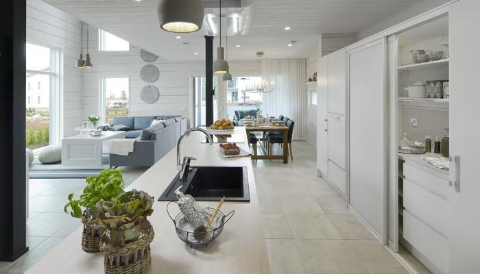 Kitchen by Puustelli. Honka Harmonia.