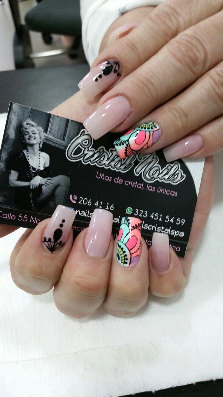 Pins check out www mynailpolishobsession com for more nail art ideas - Ideas Hair Beauty Nail Art Nail Succulent Multicolored Nails Acrylic Nails Natural Nails