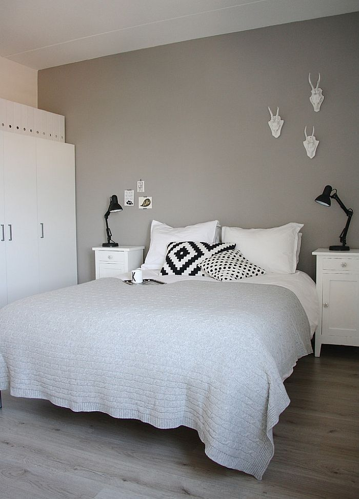 23 besten Die graue Wand Bilder auf Pinterest Graue wände - schlafzimmer wei grau