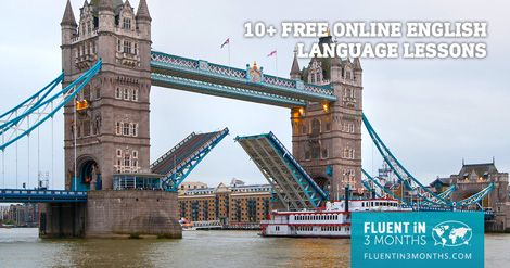 Learn English at no cost with these free online English language lessons. Includes audio and video English lessons, as well as complete courses.