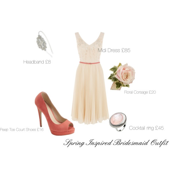 Fearless Brides Fashion Blogger Challenge: Spring-inspired bridesmaid outfit by Wearing The High Street