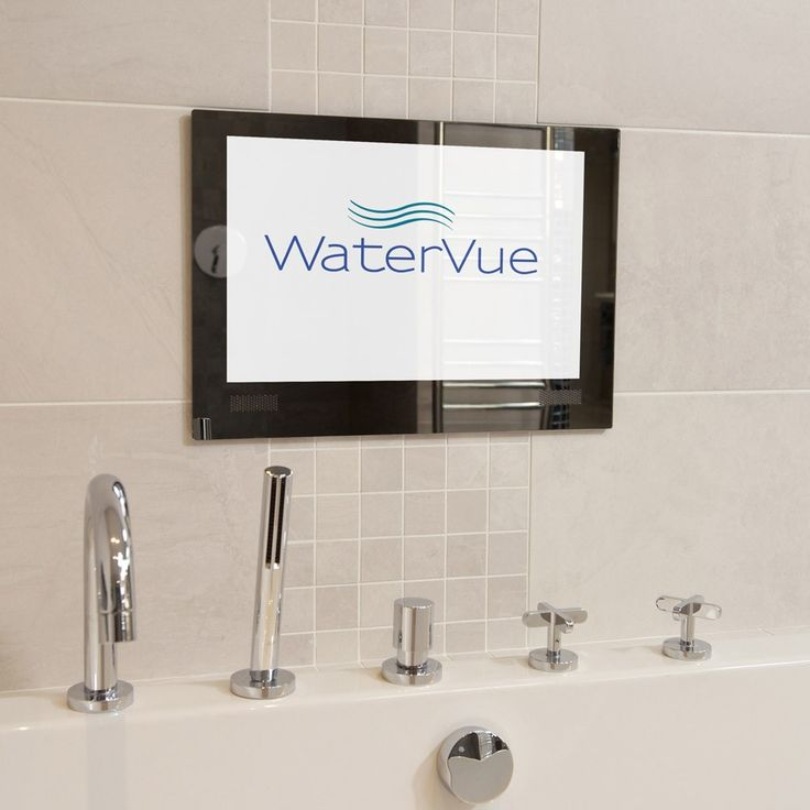 "19"" Waterproof Bathroom Mirror TV"