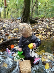 Forest Tots- outdoor toddler school, might be an interesting website to look into