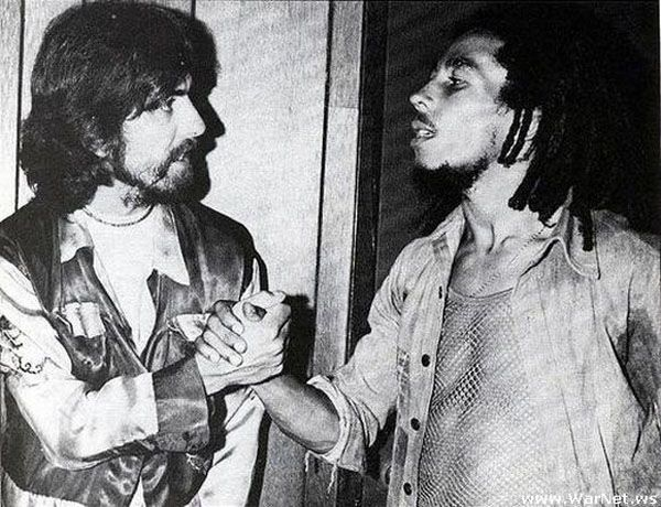 [Pictures] Rare Photos Of The Old And The Dead (The Beatles, Star Wars, Michael Jackson, Etc.) | Fstoppers  George Harrison and Bob Marley