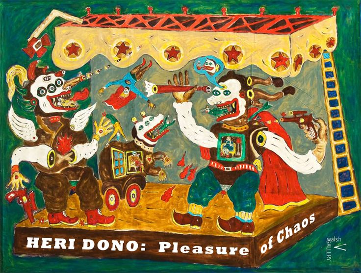 Walsh Gallery – Heri Dono: Pleasures of Chaos
