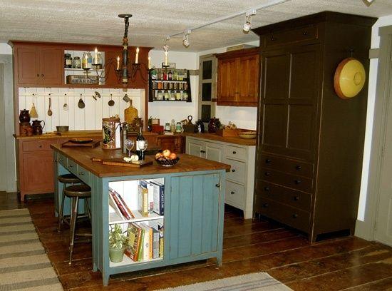 primitive country kitchen   Primitive Country Kitchen Decorating Ideas Pictures