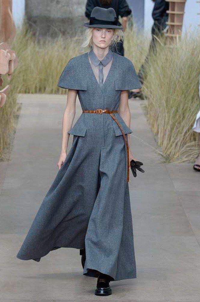 Christian Dior Fall 2017 Couture Fashion Show - Harleth Kuusik (Elite)