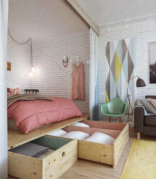Emérita Desastre: Small & Low Cost: Un apartamento pequeño en Rusia