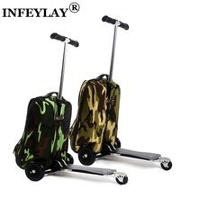 Scooter Backpacks...Great way to get Around Town and Folds Up to a Backpack or a Trolley Case! Available in Different Colours and the Shipping is FREE