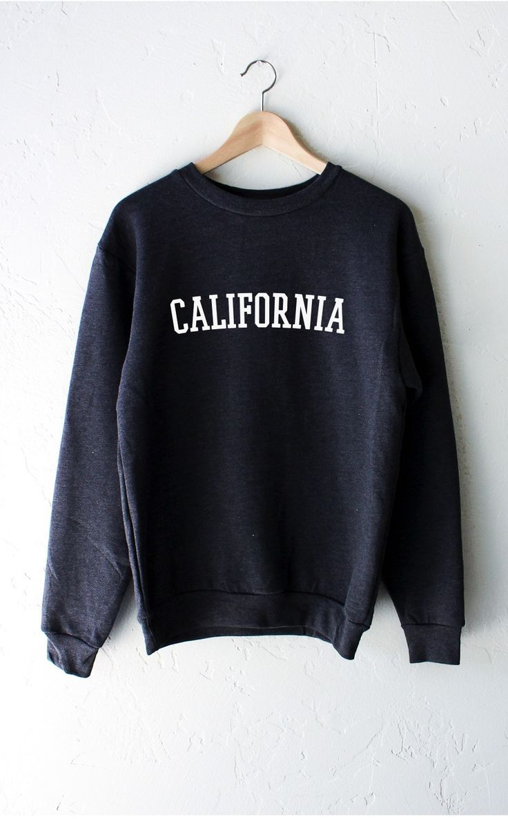 California Sweater - Dark Heather Grey