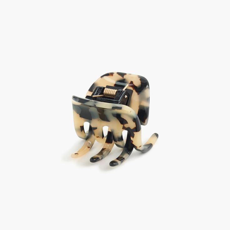 Shop the Classic Hair Clip In Italian Tortoise at JCrew.com and see our entire selection of Women's Hair Accessories.