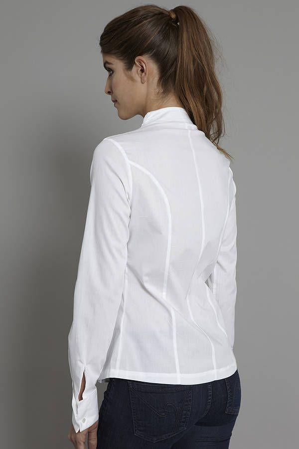 penelope white shirt by the shirt company | notonthehighstreet.com
