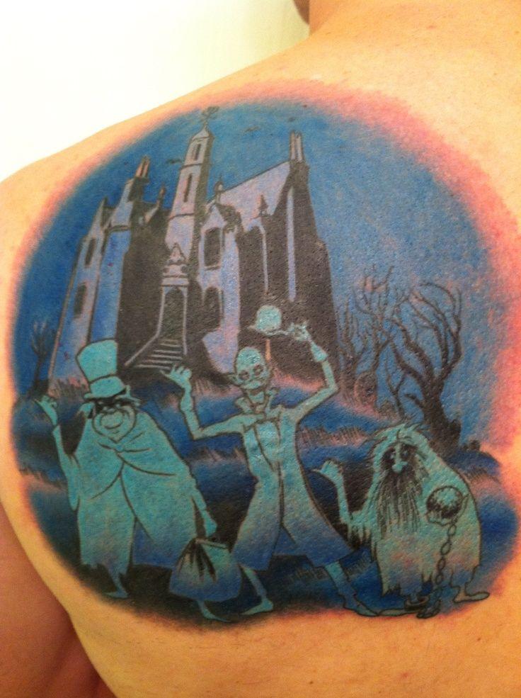 haunted mansion tattoo | Disney's Haunted Mansion Tattoo