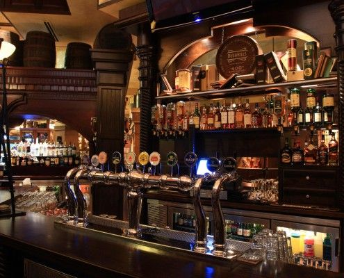 Fadó Irish Pub can be found on Buckhead Avenue in Atlanta is known for serving delicious Irish classics and a variety of a beverages in a homey atmosphere!
