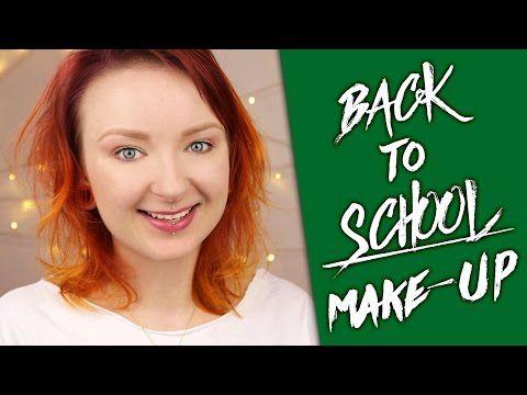 Back to school make up - tanie kosmetyki i 1 pędzel ♡ Red Lipstick Monster ♡…