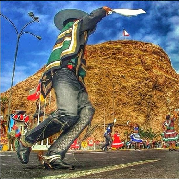 Chile's cueca - which is always best danced with the traditional 'huaso' attire