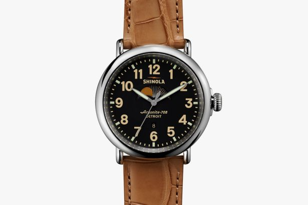 Shinola Runwell Moon Phase