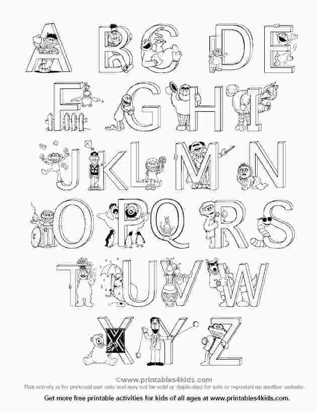 Alphabet Coloring Sheets A Z Pdf Alphabet Coloring Pages Alphabet Coloring Coloring Pages