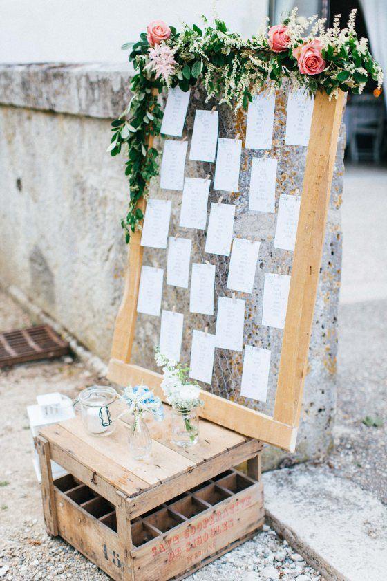140 best mariage shabby et boheme chic decoration images - Exemple plan de table mariage ...
