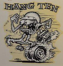 Hang Ten Skateboard | eBay