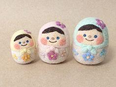 felt matryoshka dolls