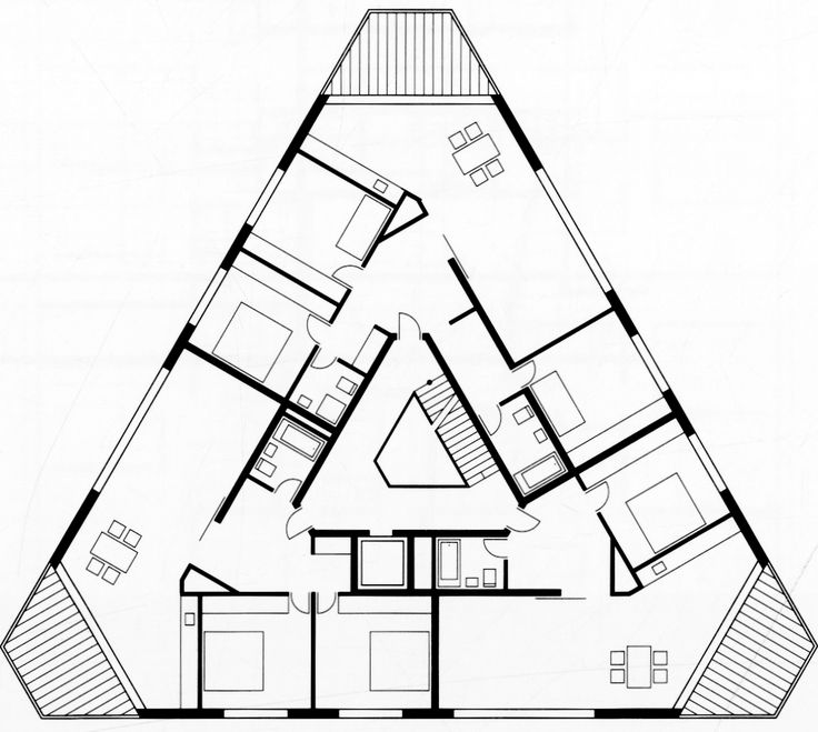 190 best images about irregular plans on pinterest house for Irregular house plans