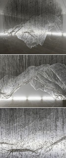 .:* L - In his installation, reverse of volume RG, Yasuaki Onishi uses the…