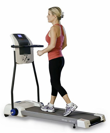 Take a look at this TR100 Compact Treadmill by LifeSpan on #zulily today!