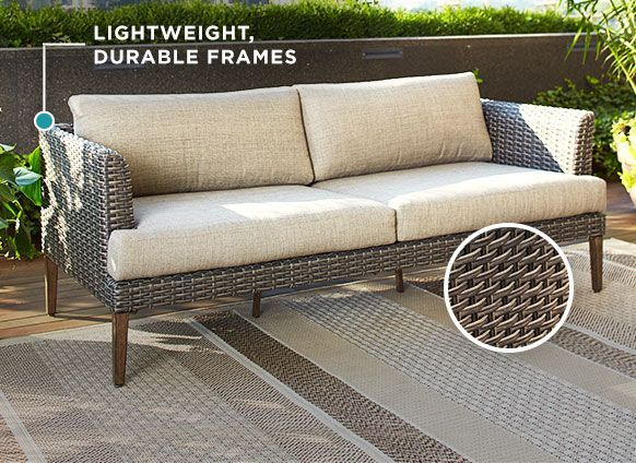 Bring Mid Century Chic Outside With Patio Furniture In The Jensen