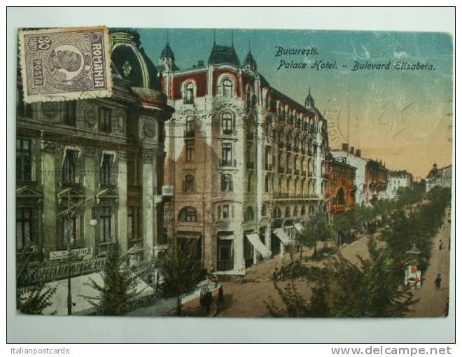 Bucuresti - Hotel Palace - interbelica