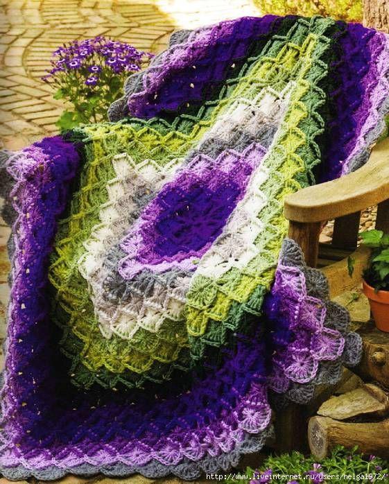 МИР РУКОДЕЛИЯ: Баварское вязание крючком | Каталог