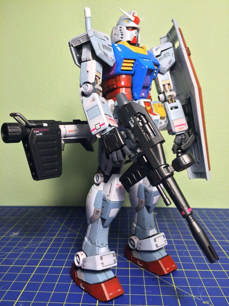 Bandai MG RX-78-2 Gundam Ver.3.0 - 4