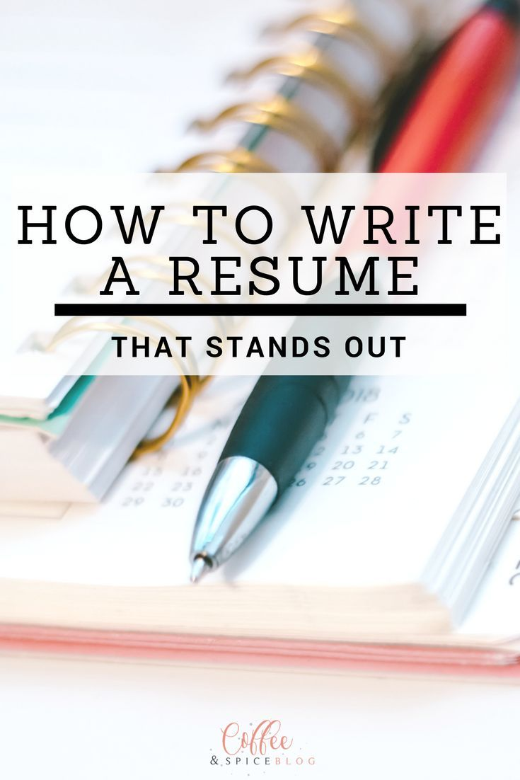 Write a resume that stands out from the crowd with these resume tips and template ideas