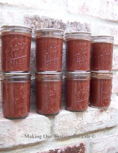 OurSanta Rosa Plum tree outdid itself this year. I have canned a batch of crockpot plum butter and we have 12 quarts of organic plum juice all put up and ready for the winter. I love plum cobble...