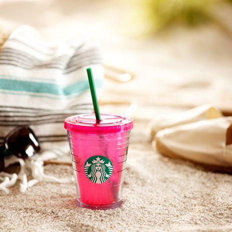 Starbucks® Logo-Kaltgetränkebecher – pink, 12floz   Starbucks® Store Deutschland (DE)