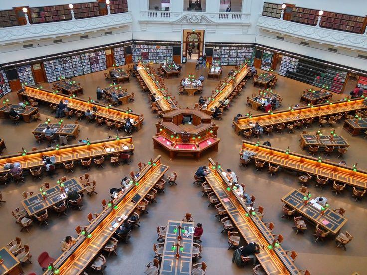 State Library of Victoria, Melbourne Australia