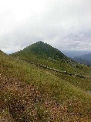 WWW Wiersze Wycieczki Wspomnienia: Tarnica: Wołosate - Przełęcz Krygowskiego (Siodło) (1275 m) - Tarnica (1346 m) - Szeroki Wierch (1315 m) - Ustrzyki Górne