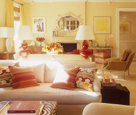 17 best ideas about yellow rooms on pinterest yellow for Red and yellow living room ideas