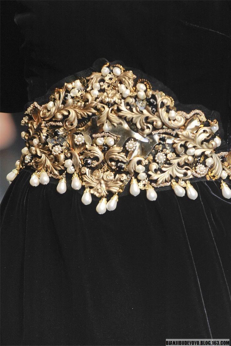 【Details】Dolce & Gabbana 2012 FW RTW