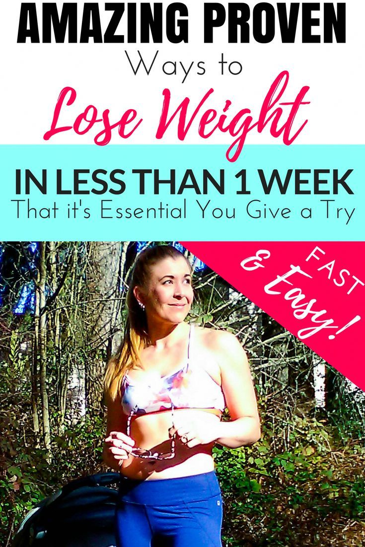 How To Lost Weight in 7 Days Without Exercise and Lose