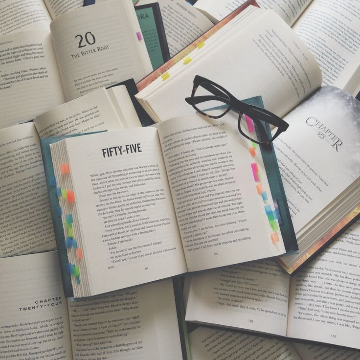 Is it bad that I can identify the books from the font?