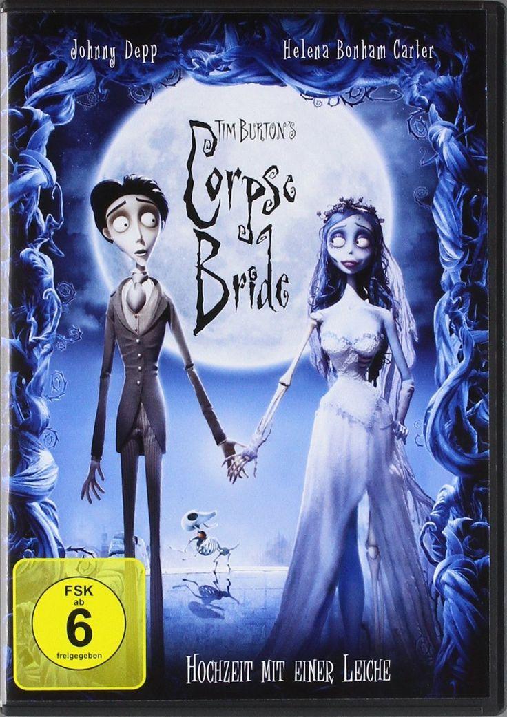 Corpse Bride - Hochzeit mit einer Leiche (FSK 6). #Halloween #HalloweenFilme #CorpseBride #HochzeitmiteinerLeiche